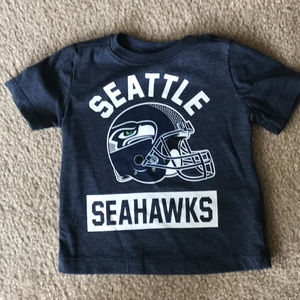 Seattle Seahawks Blue Boys Shirt 12-18 months